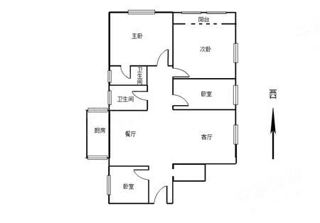 怡园大厦-户型图