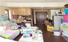 装修公寓,户型方正,通风采光好,客厅出阳台