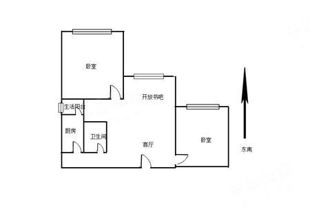 中海阳光玫瑰园-户型图