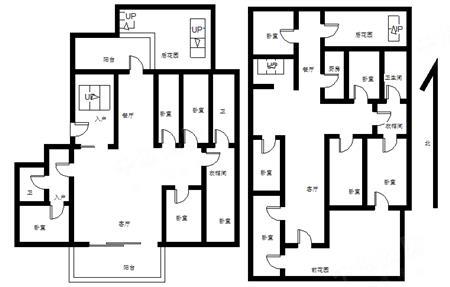 香山里花园(二期)-户型图