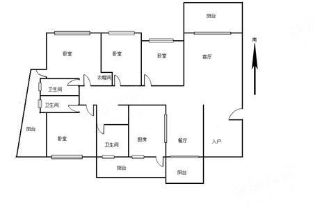 中海西岸华府北区-户型图