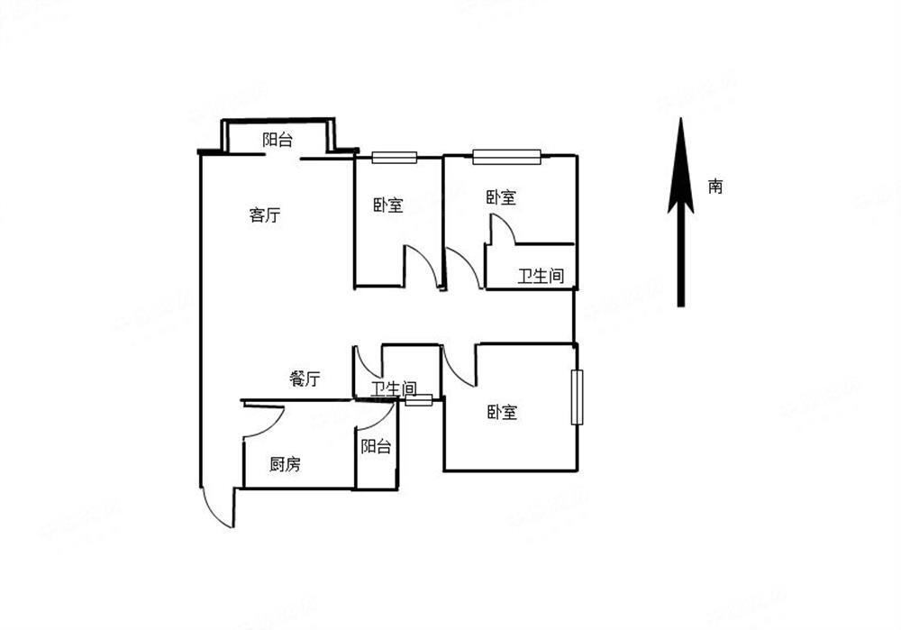 天悦龙庭二期-户型图