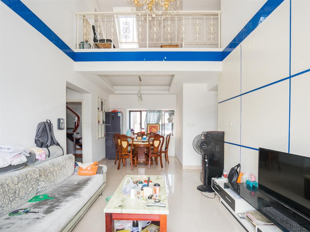 《顶楼两层复式》挑高客厅,精装四房两卫,南北通透,满五年