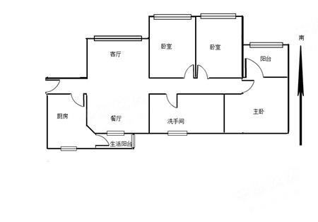 海富花园-户型图