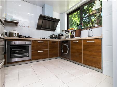 单边厨房设计图