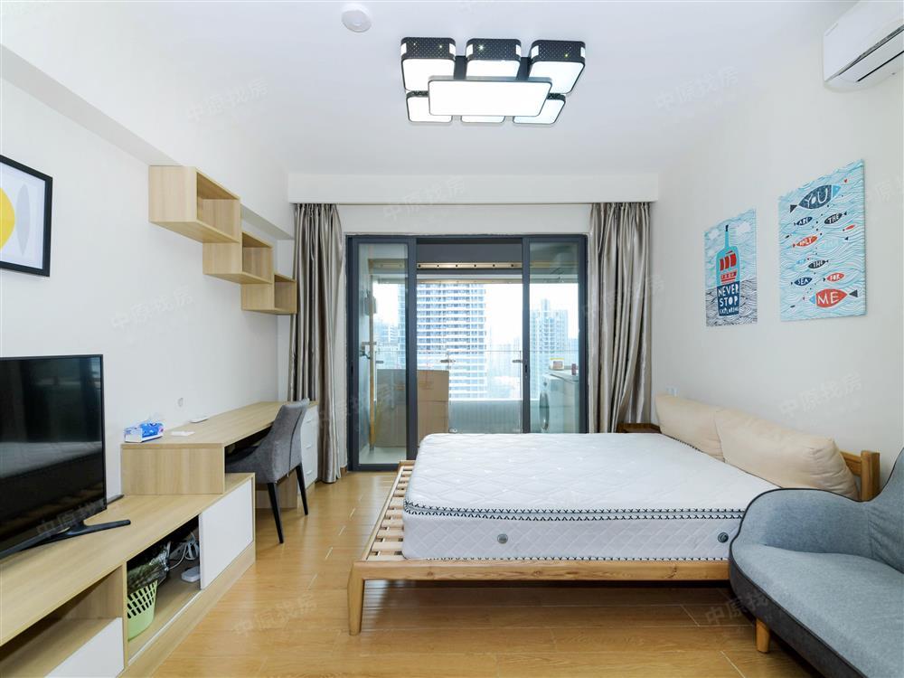 34平创新型科技公寓,高层东向,视野开阔,全齐配置,拎包入住