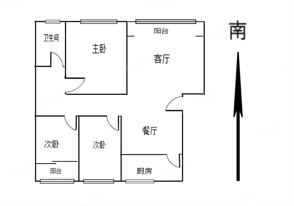 翠园东晓学位 精装修大三房 中间楼层 安静位置 业主很有心卖