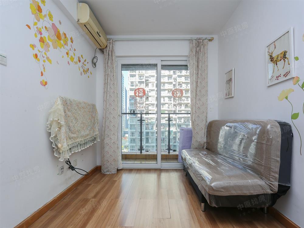 花好园一房一厅看花园安静,客厅出阳台户型好