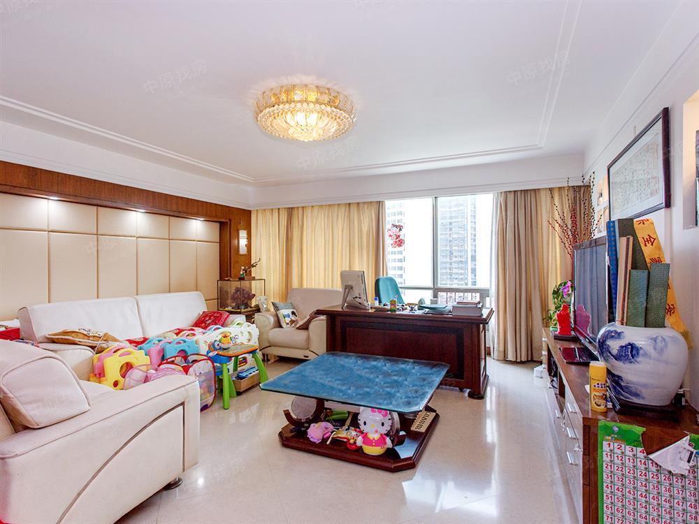 蔡屋围丽晶大厦226平复式5房 精装修诚心出售