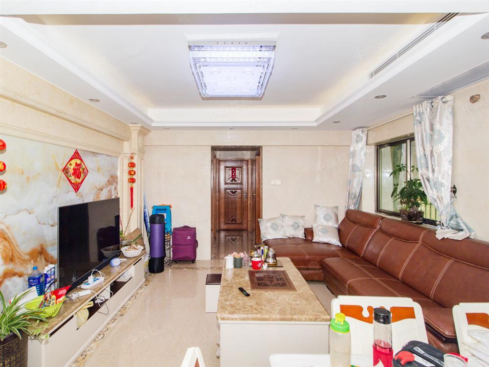 诗宁大厦 豪装朝东南 业主换房诚心出售 3房够实用